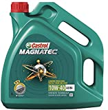Castrol Magnatec 10W-40 - Benzina/olio motore Diesel parzialmente sintetico 4 l