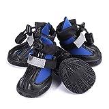 Wudimaoyiyouxian Haustier-Schuhe, einfach und komfortabel Tauchen Stoff Hundeschuhe, Dicker Schnee...