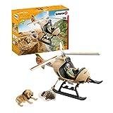 SCHLEICH 42476 Helikopter Tierrettung Wild Life