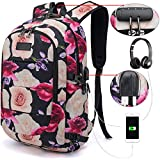 Tzowla Business Laptop Backpack Water Resistant Anti-Theft College...