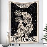 Animal sagrado colgante de pared brujería hippie tapiz bohemio estera de yoga hogar arte de la pared decoración manta A5 180x200cm
