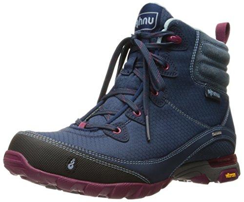 Ahnu Women's Sugarpine Waterproof Hiking Boot,Blue Spell Waterproof Nubuck,US 5.