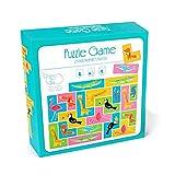 ELKeyko Zoo Tetris Assorti Match de Puzzle Jeu Jeux Enfants Jigsaw Jouet Partie Famille Parent-Enfant Jeux de société de Pension logique