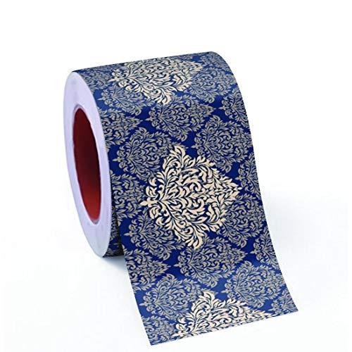 100yellow® 3D Bricks Design Waterproof Self Adhesive Wall Tiles Sticker for Bathroom, 48 X 16 Inch