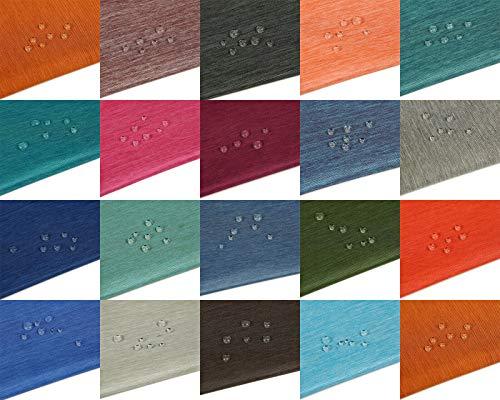 Tela de lona impermeable,dos tonos jaspeados,19 colores para tapicería,pufs,que cubren el hogar,el jardín y el mar. 600 denier grueso para trabajo pesado. Graphite/Silver (Medium) 2Tone, 1/2M