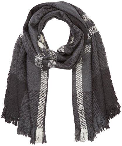 ICHI Damen 20102016 Schal, Schwarz (Black 10001), One size