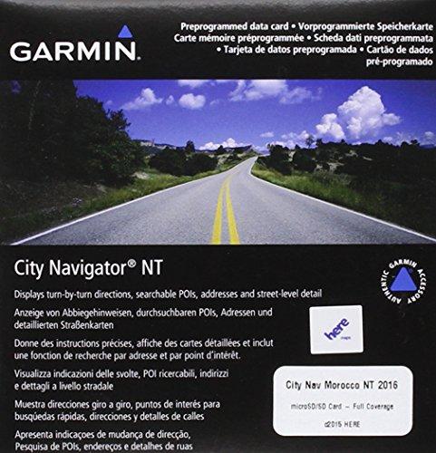 Garmin City Navigator NT - Mapa para GPS de Morocco