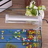 Meiyya Lámpara de Acuario, Material de Calidad Bien Sellado Seguro de Usar Luz de Acuario, Conveniente de Usar para Mascotas domésticas Mascota(Euro 160, Pink)