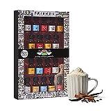 Friends, Set de Regalo de Siropes para el Café, Variedad de Sabores, Pack 18 x 25 ml
