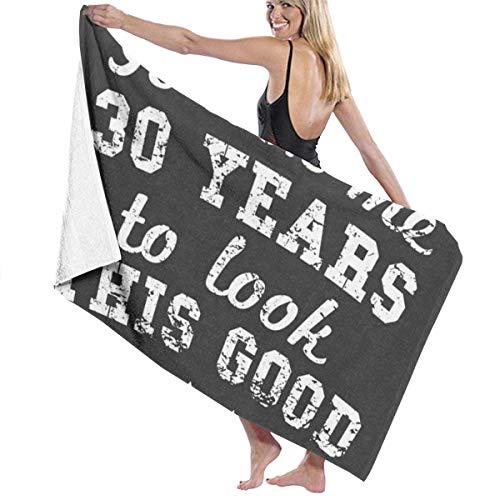 30 años para Mirar Toalla Wrap Bath Womens SPA Ducha y