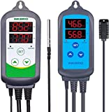 Inkbird ITC-308 Temperature Controller with IHC-200 Humidity Controller Bundle