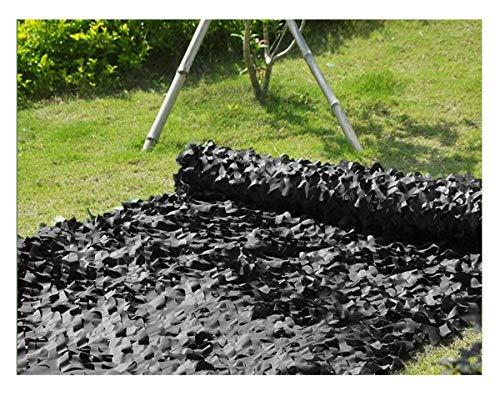 'N/A' Red de Camuflaje Negro Tela Oxford Red de Camuflaje Cubierta de Caza carport Tela de Sombra persianas de Camping decoración Camuflaje de Bosque(Size:2 * 4M(6.6 * 13.1ft))