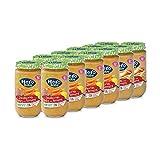 Hero Baby - Tarrito de Zanahorias Baby con Ternera, Ingredientes Naturales, para Bebés a Partir de los 6 Meses - Pack de 12 x 235 g