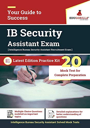 IB Security Assistant Recruitment Exam | 10 Mock Test (English Edition)