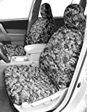Front Buckets Seats, CalTrend Camouflage Seat Covers for 2003-2007 Chevy / GMC Avalanche   Silverado   Suburban   Sierra   Yukon 1500-3500 Urban Insert and Trim
