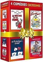 Coffret 5 comédies cultissimes - Le Père Noël est une ordure + Scout toujours + Elle voit des nains partout + Les rois du ...