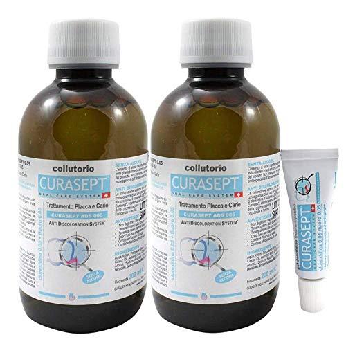 2 Confezioni di Curaden Curasept ADS Collutorio 0.05% 200 ml