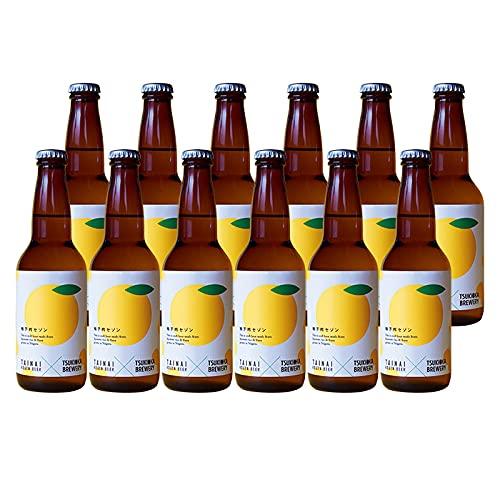 新潟県胎内高原ビール柚子吟セゾン夏限定品瓶330ml12本クラフトビール