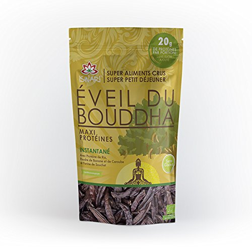 ISWARI Eveil du Bouddha maxi protéiné 360G Bio -