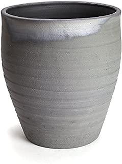 鉢 三河焼 KANEYOSHI 【日本製/安心の国産品質】 陶器 睡蓮鉢 三河焼 水瓶 10号 (20L)