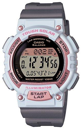 [カシオ] 腕時計 スポーツギア LAP MEMORY 120 ソーラー STL-S300H-4AJF グレー