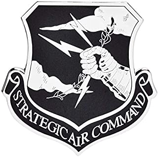 Medals of America Strategic Air Command (SAC) Officially Licensed Car Emblem Multicolored
