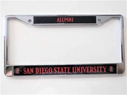 San Diego State University Alumni Photo License Plate Frame