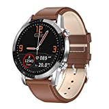 Padgene Smartwatch con Llamadas Bluetooth, IP68 Impermeable Reloj Inteligente, Pulsera de Actividad con Monitor de Sueño, Podómetro, Notificación de Mensaje para Android e iOS