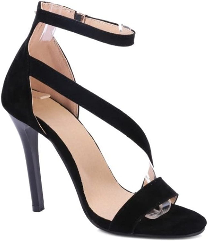 Linson123 Women's high Heel Sandals Sexy Comfortable Open Toe Ladies Dress Wedding shoes