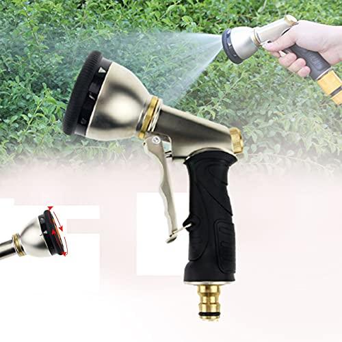CSYHJRS Pistola Manguera De Jardín, 9 Modos Pistola De Agua De Jardín De Ajustable Pulverización Boquilla para Manguera, para Regar Plantas, Limpieza, Lavado De Barro