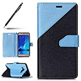 Uposao Coque Samsung Galaxy J5 2016 Pochette Portefeuille PU Galaxy J5 2016 Coque à Rabat Bookstyle...