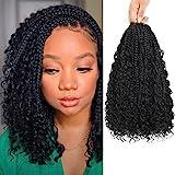 Best Hair For Crochet Braids - 8 Packs Boho Bob Box Braids Crochet Hair Review