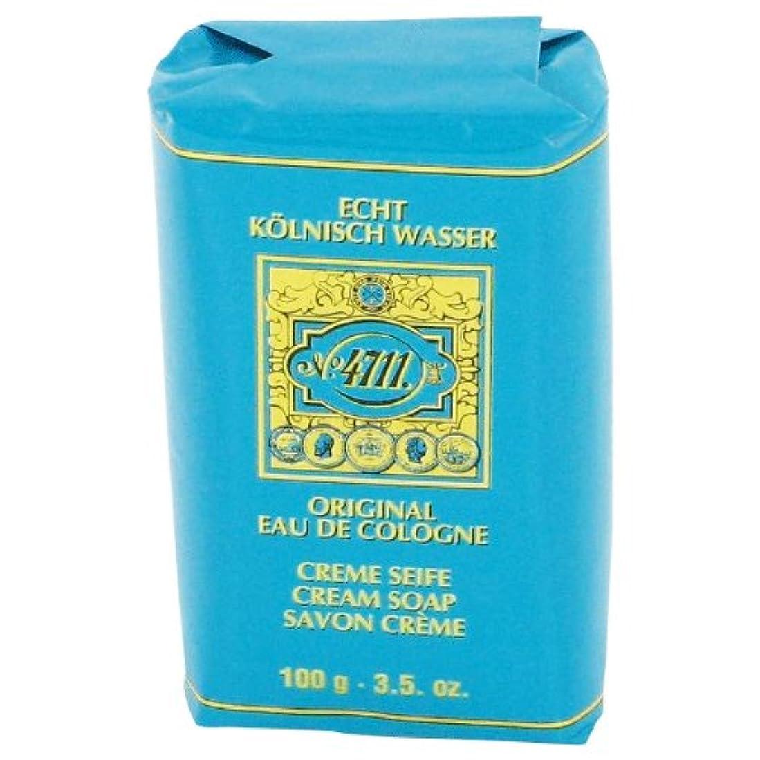チート禁止するナサニエル区4711 cream soap 100 gr [海外直送品] [並行輸入品]