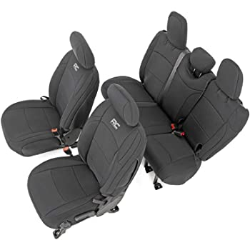 Covercraft Carhartt SeatSaver Front Row Custom Fit Seat Cover for Select Jeep Cherokee Models Gravel Duck Weave