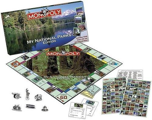mas barato My My My National Parks Monopoly by USAopoly  preferente