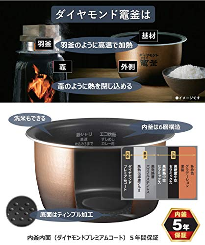 パナソニック炊飯器1升スチーム&可変圧力IH式Wおどり炊きブラックSR-VSX189-K