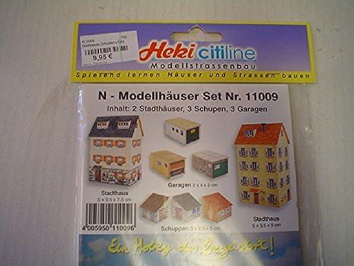 los últimos modelos Heki 11009 - Casas de cartón cartón cartón con Escala N  hasta 60% de descuento