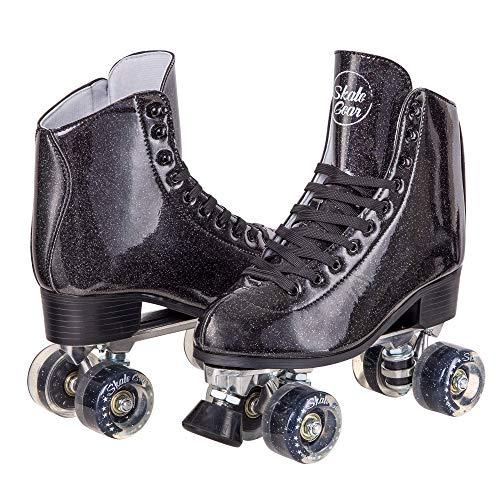 C SEVEN Sparkly Best Roller Skates for Rink