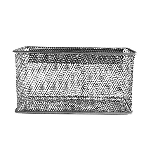 QOTSTEOS Cesta de almacenamiento de alambre, cesta de malla magnética, organizador de almacenamiento para nevera, pizarra, cocina (tamaño: XL)