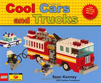 Fun LEGO building book. Build cars, trucks, taxis and much more. Cool Cars and Trucks