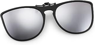FEISEDY Cat Eye Polarized Clip-On SunglMen Women for Prescription GlDriving Outdoor B2764