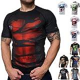Khroom T-shirt de Compression de Super-héros pour Homme | Vêtement Sportif à...