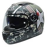 NZI Eurus Graphics Motorradhelm, Camouflage/Dekoration, 59
