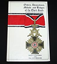 Orders, Decorations, Medals and Badges of the Third Reich (Including the Free City of Danzig)