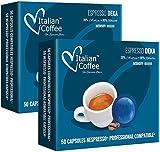 100 Capsulas Nespresso Profesional - Cafe Descafeinado - Capsulas Nespresso Empresas