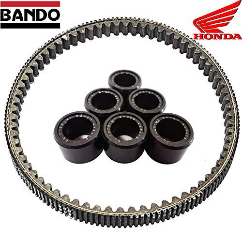 Set met 6 lichtgewicht wielen GR 17 riemen Bando H onda SH 300 2007/2019