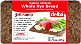 Delba Famous German Whole Rye Bread, 16.75 Ounce (Pack of 12)
