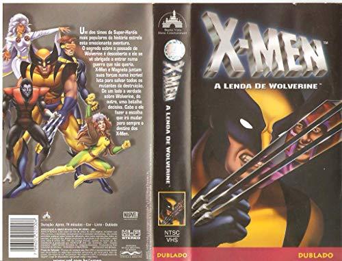 X-MEN - A Lenda de Wolverine - VHS Dublado
