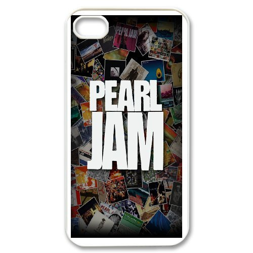 Custom Case Pearl Jam Band For iPhone 4,4S Q2Y5543367