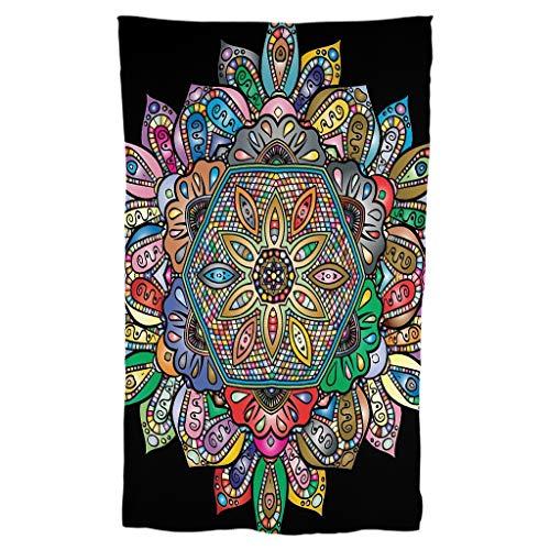 Bufandas de impresión de patrones amigables con la piel - bufandas de arte
